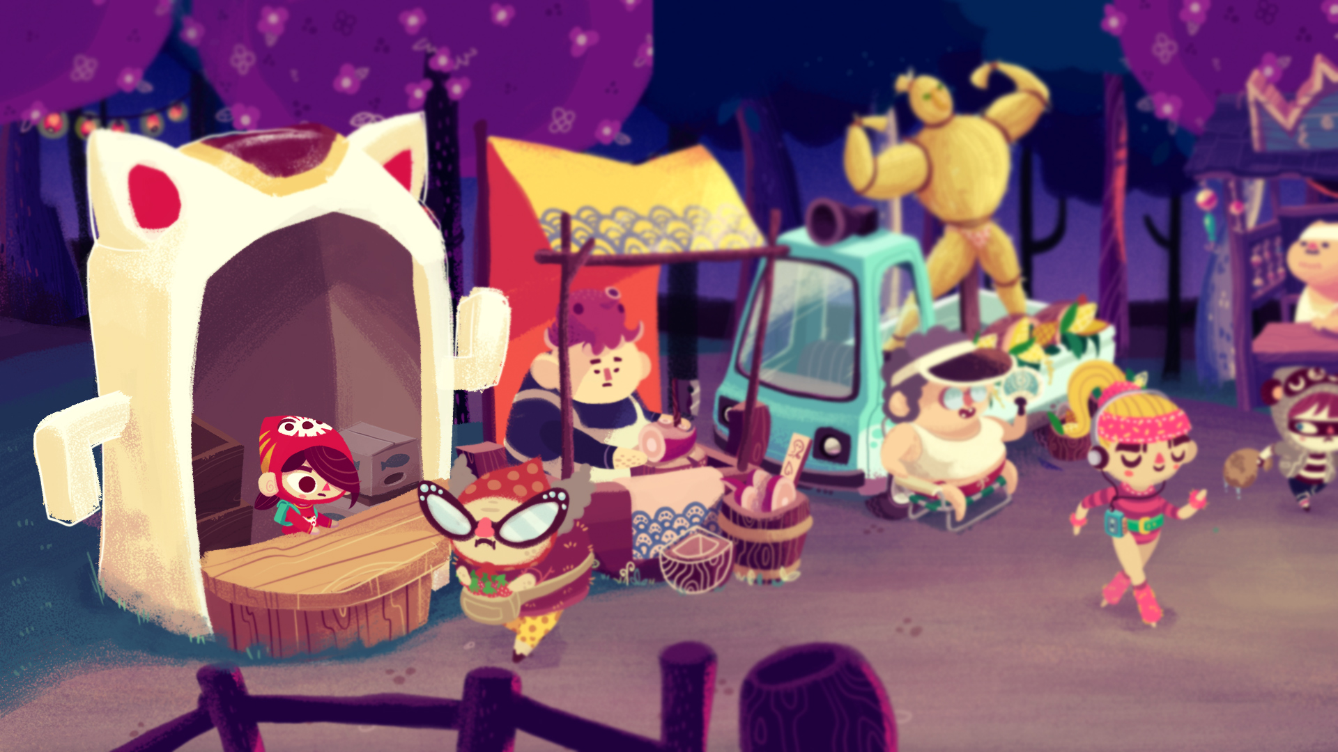 Mineko's Night Market Switch Announcement 2
