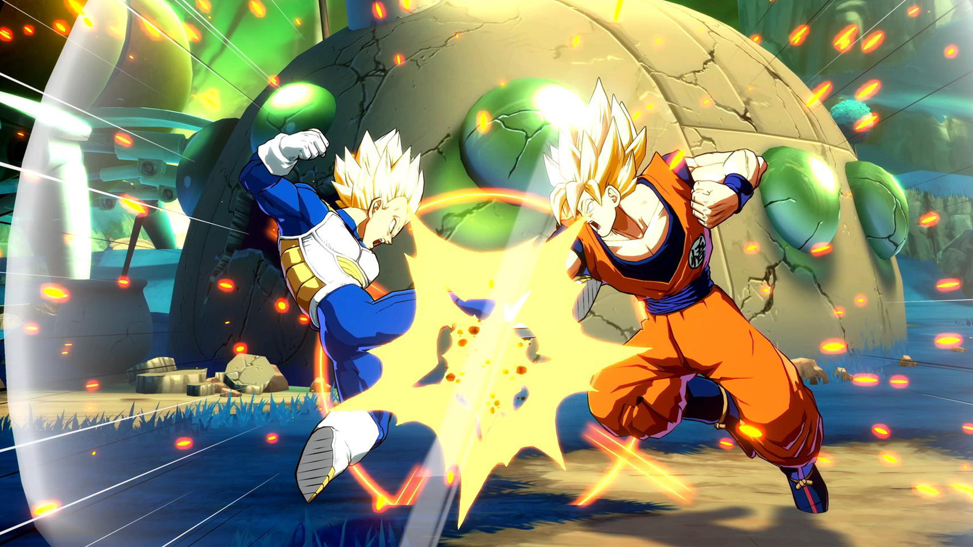 Dragon Ball FighterZ Switch Open Beta 1