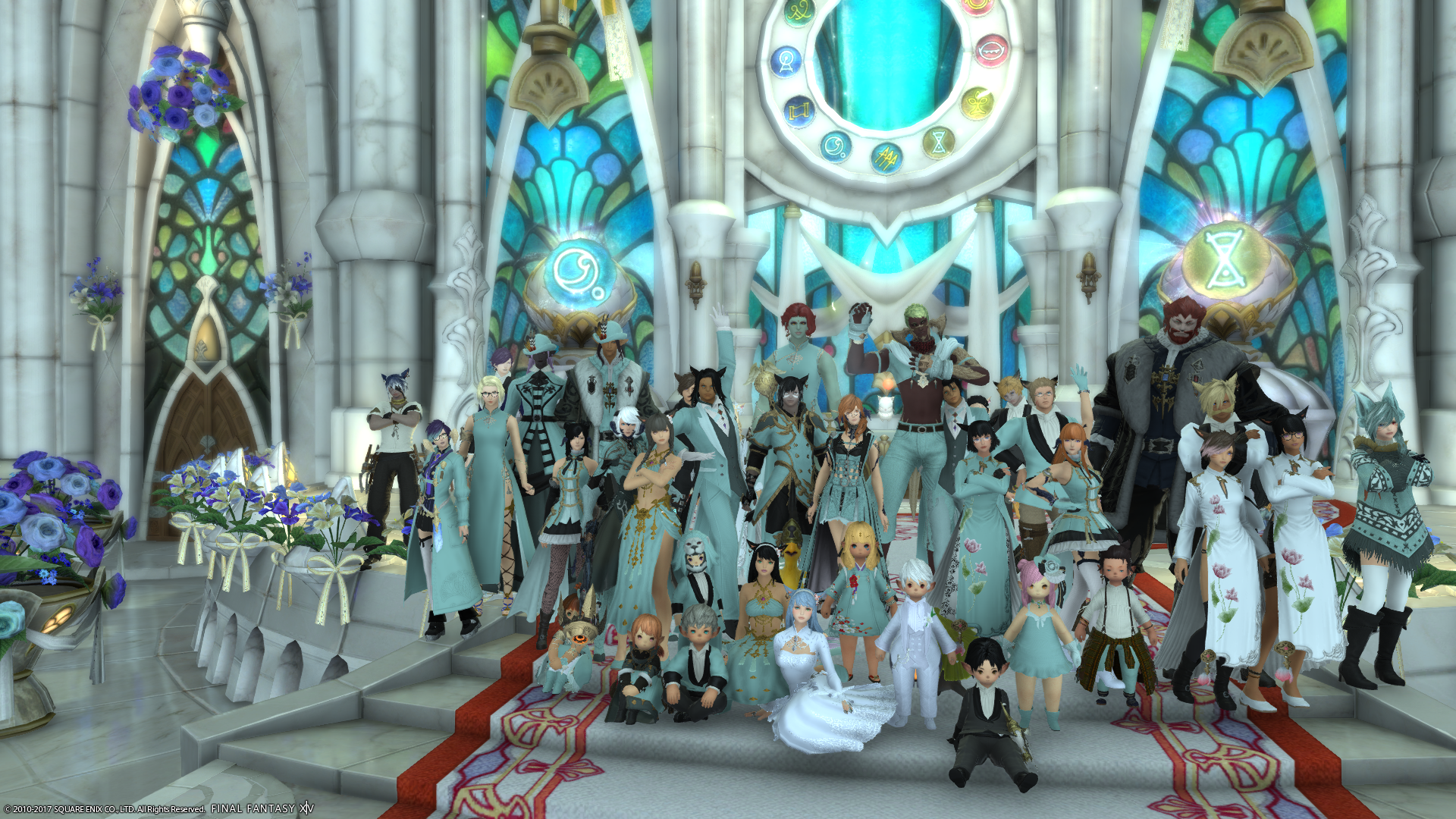 Final Fantasy XIV Wedding Story 1
