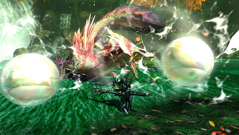 Monster Hunter History Throwback 4