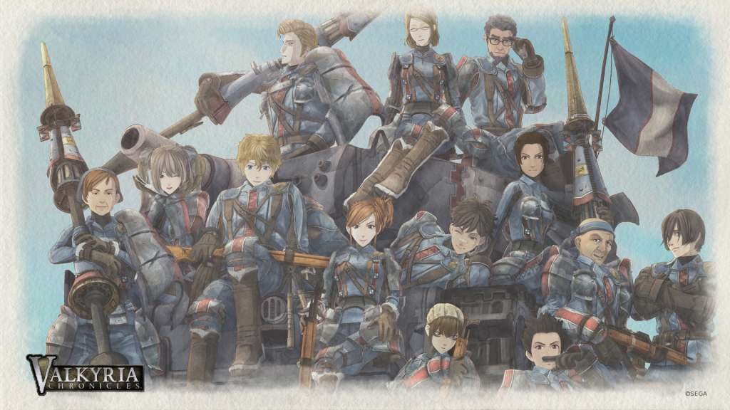 Valkyria Chronicles Switch Reveal 1